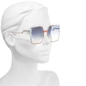 Fendi Accessories - Fendi 60mm Gradient Square Cat Eye Sunglasses 💙❤️